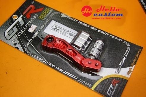 KICK STARTER PEDAL CNC GTR2 for HONDA ZOOMER-X RED