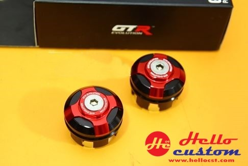 SEAT FRAME END CAP <2PARTS> zoomer x new 2015 for HONDA ZOOMER-X RED