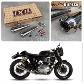 Exhaust Ixil IronHead Stainless edition For Royal enfield interseptor 650 & GT650
