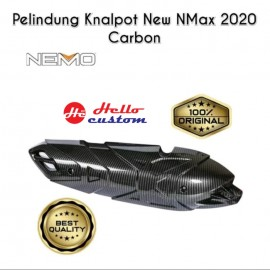 Exhaust Cover Kevlar Nemo All New Yamaha  Nmax 2020