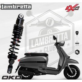 Rear Shock Absorber Extreme Series OKD For Lambretta