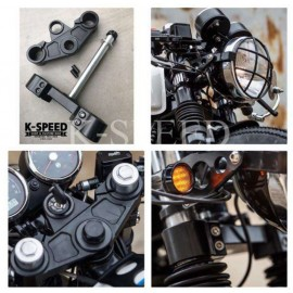 Diablo Front Shock Clamp For Royal enfield GT650