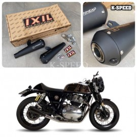 Exhaust Ixil IronHead black edition For Royal enfield interseptor 650 & GT650