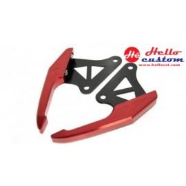 REAR GRAB SEP Racing MSX for HONDA MSX 125 RED