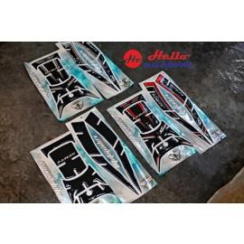 All NEW Yamaha NMAX 2020 Sticker Tank Pad