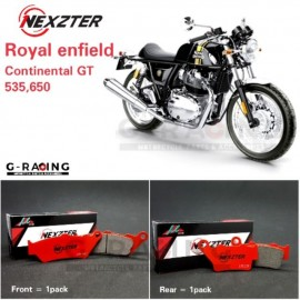 Rear Brake Pads For  Royal Enfield Continental GT 535,650