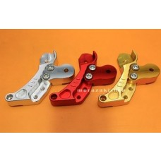 SHOCK EXTENSION  for HONDA ZOOMER-X RED